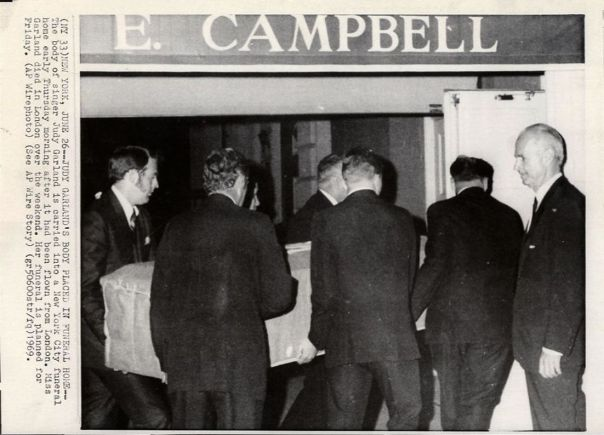 June 26, 1969 Campbell Funeral Pic