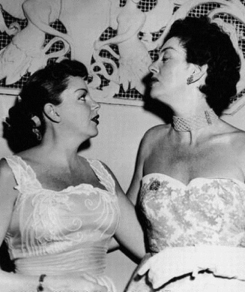 June 29, 1952 Judy and Roslind Russell Friars