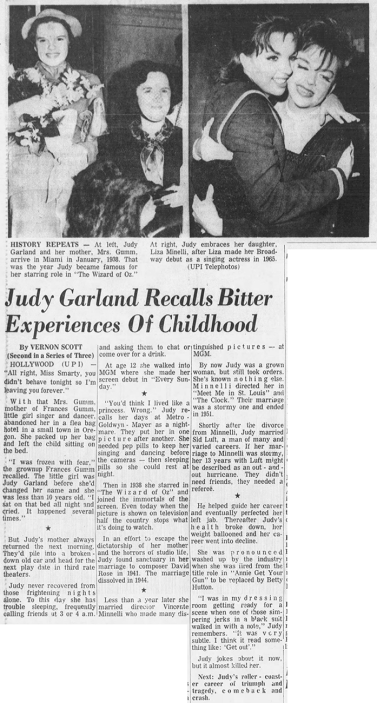 The Life And Times of Judy Garland - Vernon Scott