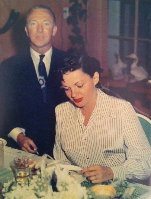 June 8, 1952 at wedding party Sid Luft