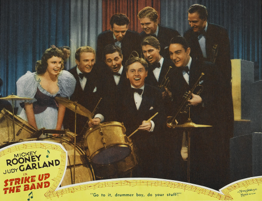 """Judy Garland and Mickey Rooney in """"Strike Up The Band"""" 1940"""