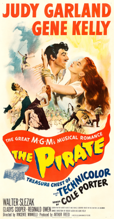 "Judy Garland and Gene Kelly in ""The Pirate"" - 1948"
