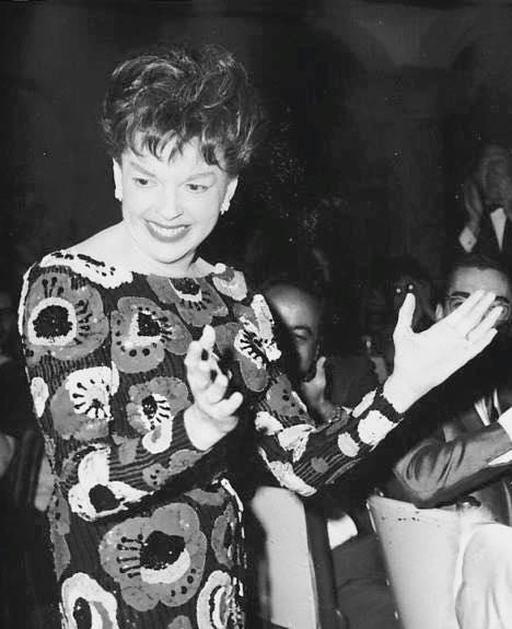 Judy Garland at Buddy Rich's show September 21, 1966