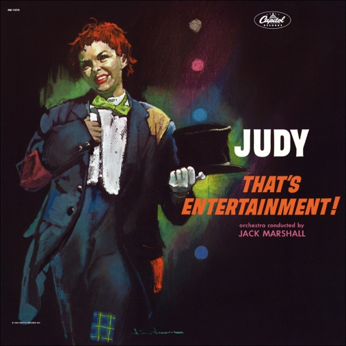 """Judy Garland - """"Judy - That's Entertainment!"""" Capitol Records LP"""