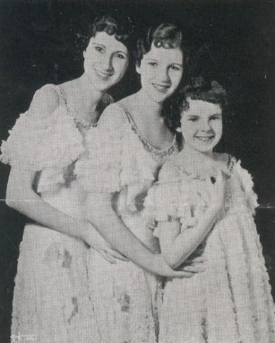 The Gumm Sisters circa 1933
