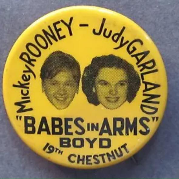 1939 Promo Button from Fred Hough