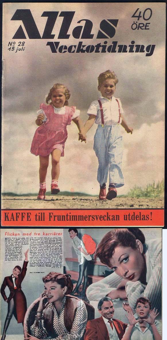 1955-7-15 Allas Veckotidning Sweden