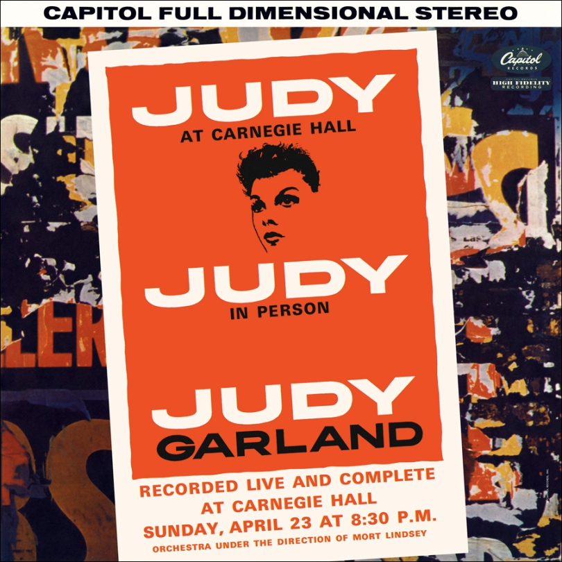 Judy Garland at Carnegie Hall on Capitol Records