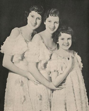 The Gumm Sisters 1933 (Judy Garland)