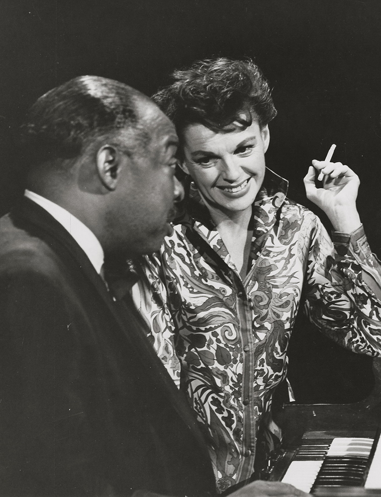 Judy Garland and Count Basie July 5, 1963