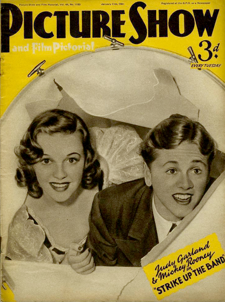 January 1941 Pitcture Show Magazine FX