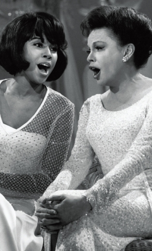 Judy and Diahann Carroll