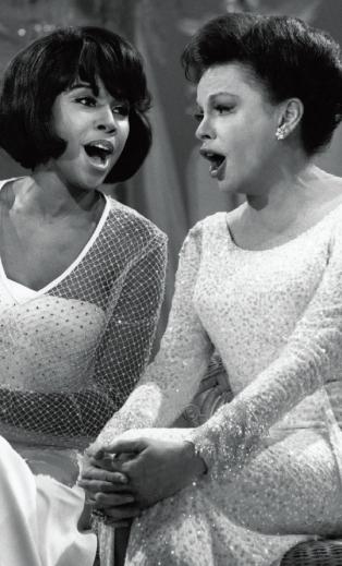 Judy and Diahann Carroll