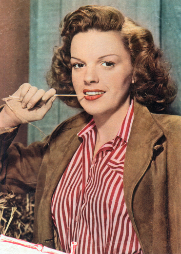 Judy Garland in 1944 by Eric Carpenter