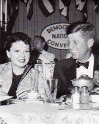 July 10, 1960 Judy and JFK crop