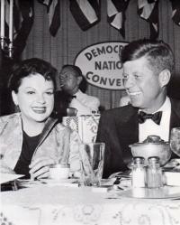 July 10, 1960 Judy and JFK crop