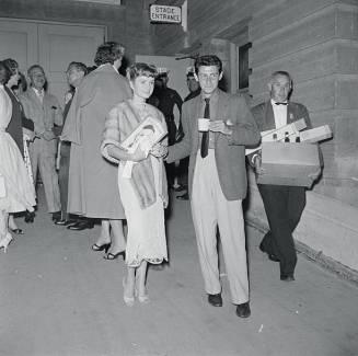 July 11, 1955 LONG BEACH Debbie and Eddie