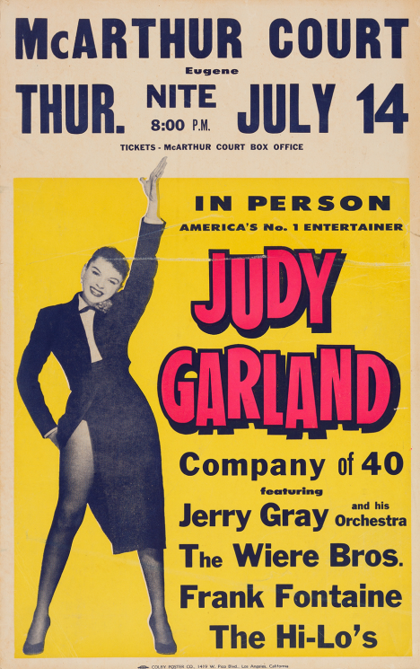 July-14,-1955-Eugene-Oregon-Poster