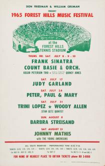July-17,-1965-Forest-Hills-Stadium-Poster