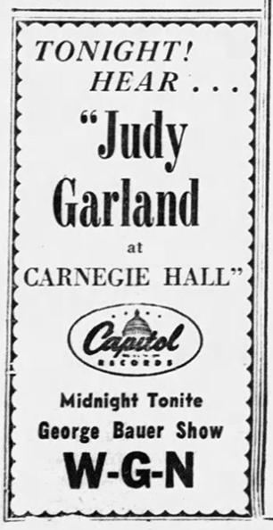 July-31,-1961-CARNEGIE-HALL-LP-Chicago_Tribune