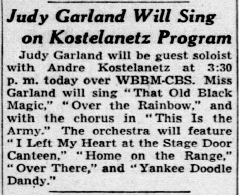 On This Day In Judy Garland's Life And Career