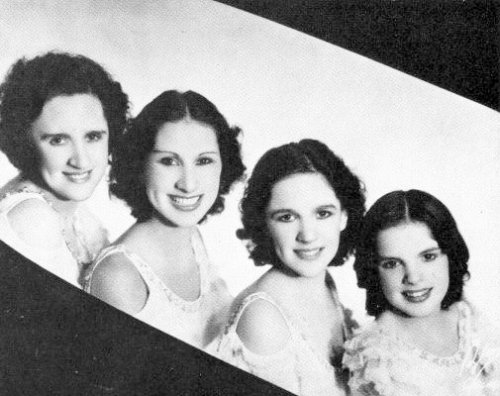 The Gumm Sisters 1934