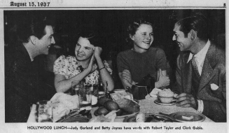 August-15,-1937-ROBERT-TAYLOR-BETTY-JAYNES-CLARK-GABLE-Chicago_Tribune