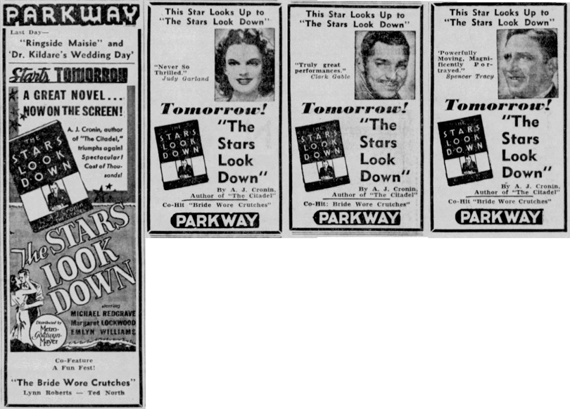 August-26,-1941-THE-STARS-LOOK-DOWN-Wisconsin_State_Journal-Combo