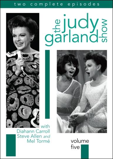 August 31, 2010 Judy Garland Volume 5 Box Art (2-D)