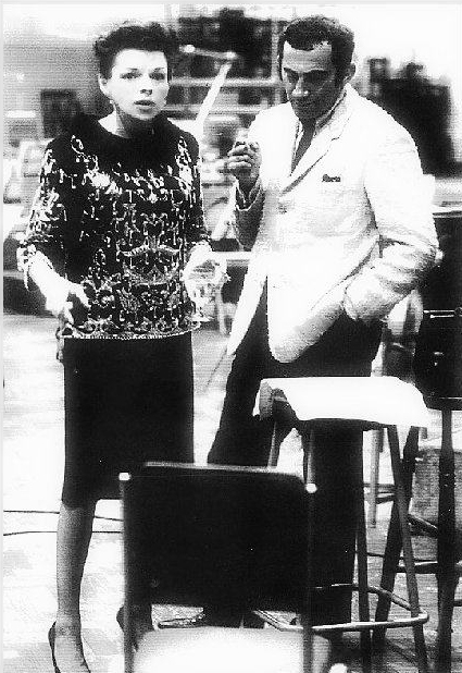 Judy Garland and Lionel Bart