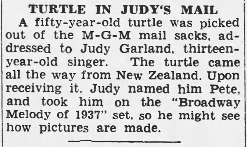 August-8,-1937-JUDY-RECEIVES-A-TURTLE-The_Monitor-(McAllen-TX)