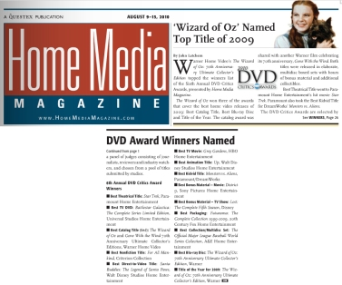 August 9, 2010 Home Media Magazine