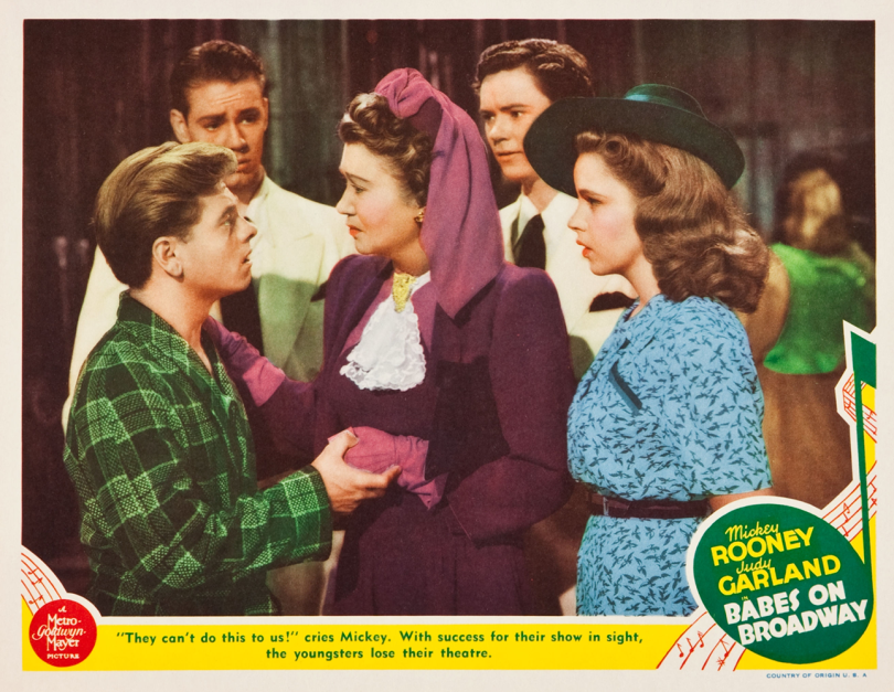 Babes on Broadway Lobby Card