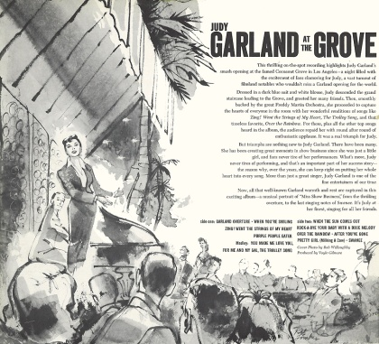 Garland at the Grove original LP back