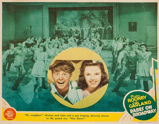 Babes-on-Broadway-Lobby-Card