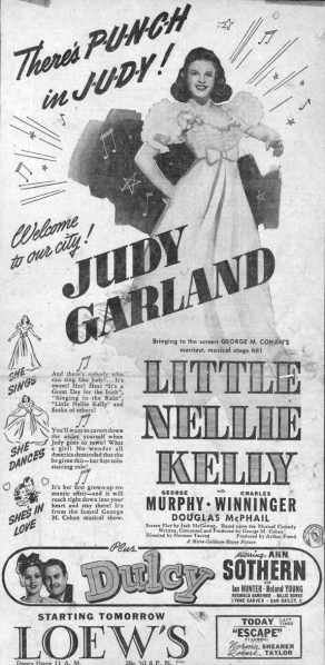 Little-Nellie-Kelly-Newspaper-Ad