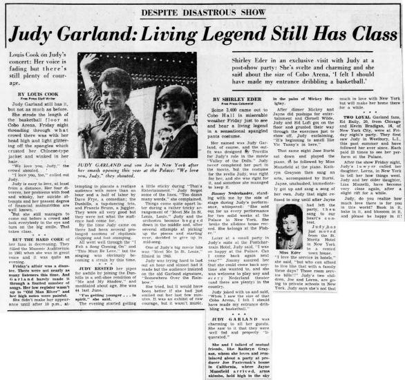 October 2, 1967 (for September 29) COBO Detroit_Free_Press