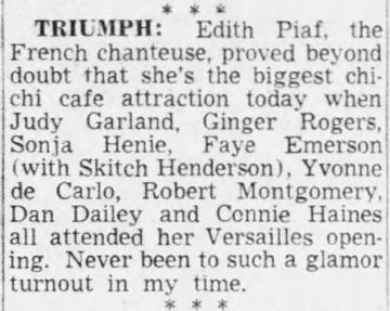 September-15,-1950-(About-September-13,-1950)-Edith-Piaf-Earl-Wilson-Column-'It-Happened-Last-Night'
