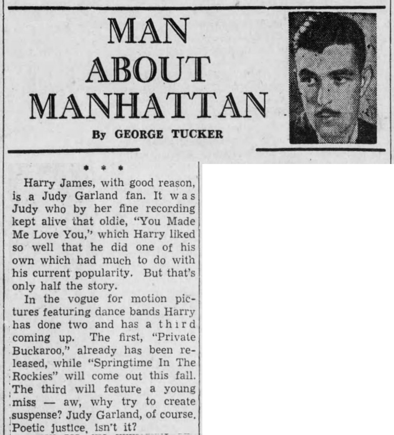 September 2, 1942 HARRY JAMES The_Evening_Times_ (Sayre PA)
