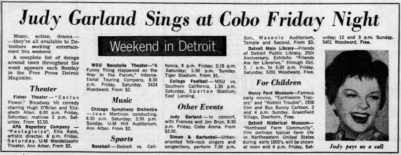 September 29, 1967 COBO Detroit_Free_Press