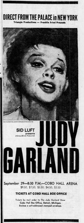 September 3, 1967 (for September 29) COBO HALL Detroit_Free_Press