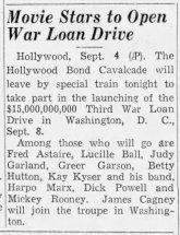 September 4, 1943 (for September 8) USO BOND TOUR The_Tampa_Times