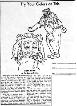 September-8,-1939-COLOR-THE-LION-The_Evening_Herald-(Klamath-Falls,-OR)