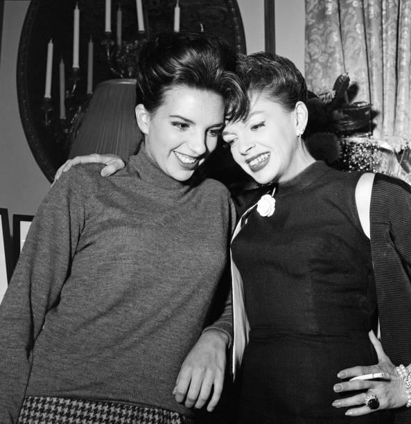Judy Garland Liza Minnelli September 1964