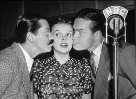 Jerry Colonna Bob Hope circa 1940