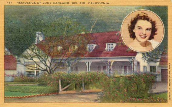 Judy's Home Postcard Front