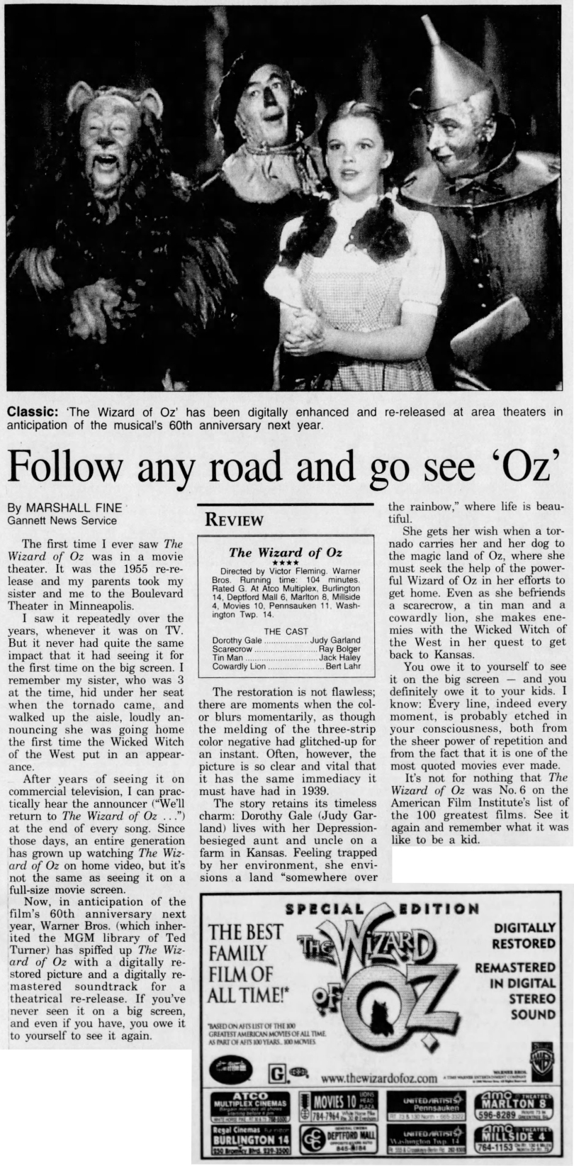 November 10, 1998 60TH ANNIV Courier_Post (Camden NJ) CROP