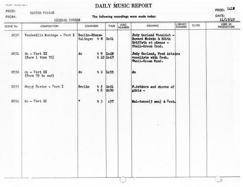 November 17, 1947 2 Vaudeville Montage