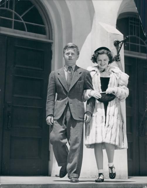 October 23, 1937 (photo taken fall 1937) JUDY FUR shot of Judy in the same coat 1