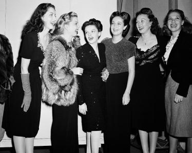 Virginia-O'Brien-Frances-Langford-Dorothy-Lamour-Ginny-Simms-Dinah-Shore